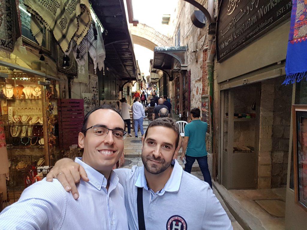 El Dr. Antonio Lucena en Israel