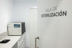 sala esterilización clínica dental Marta Morales