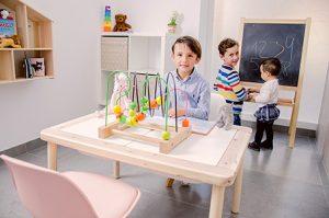 Area infantil Clínica dental Marta Morales